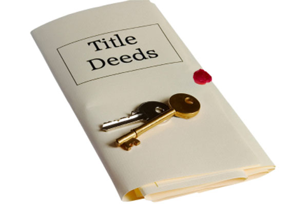 how to get a deed in your name